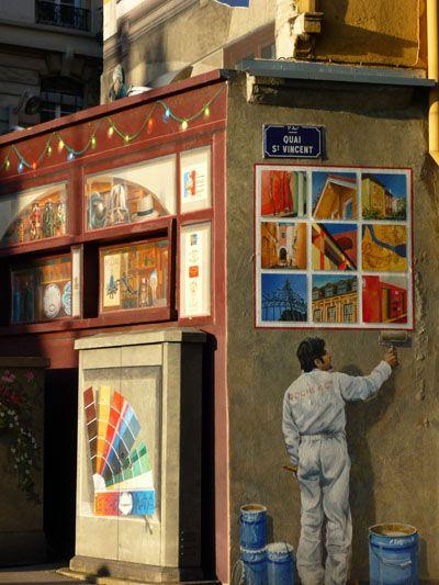 murs peints a Lyon France | Lyon et ses murs peints : un musée en plein air