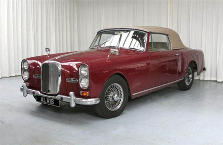1968 Alvis TF21, the last Alvis with a total of 106 produced and only 20 with drop-head coachwork. The 6-cylinder, 3-litre straight-6 power unit provides a smooth 150bhp, and a top speed of nearly 120mph, allowing for comfortable cruising in modern traffic. This particular example was delivered new on 1 July 1966 to Mr. Porfyratos of London SW1. The second and current owner acquired the car 2 February 1969, and it has been meticulously maintained ever since, with only 50,600 miles.