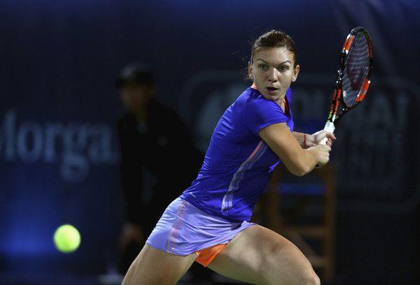 Simona Halep Photos: WTA Dubai Duty Free Tennis  Championship - Day Seven