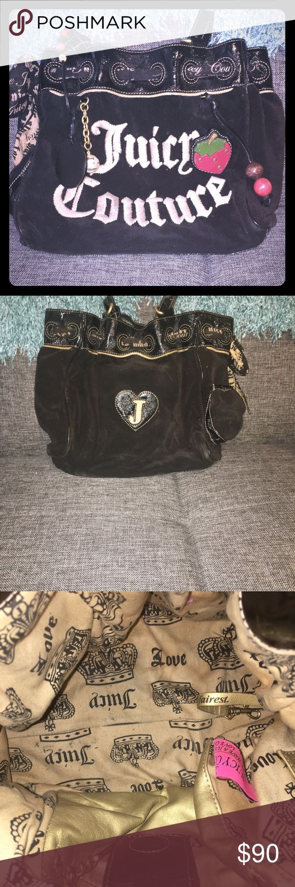 Juicy Couture Strawberry Fields Daydreamer Handbag Lightly used original juicy couture classic handbag Juicy Couture Bags Shoulder Bags