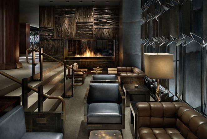 Focus Lighting Inc. | Architectural Lighting Design » Royalton Hotel Lobby