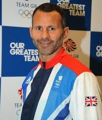 Ryan Giggs, captain of the GB Olympics football team.