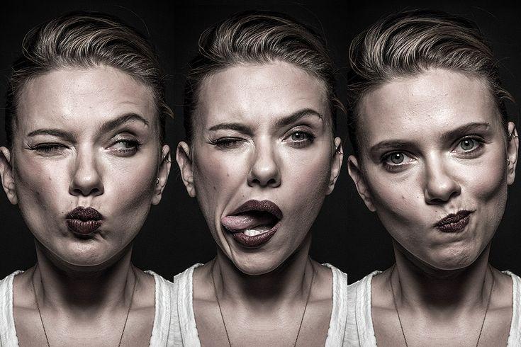 Scarlett Johansson by Andy Gotts.