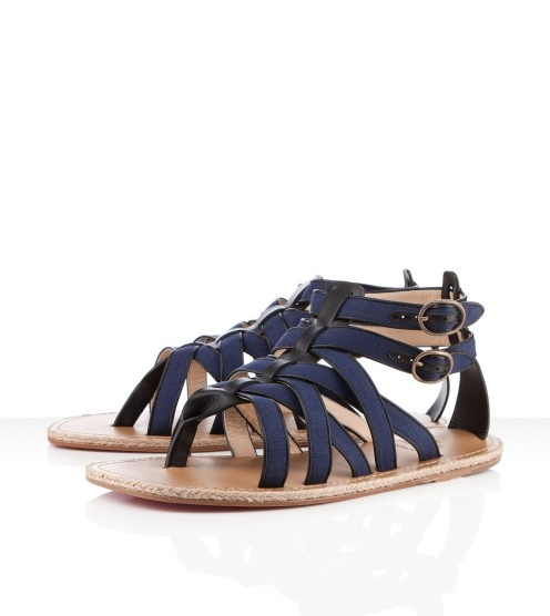 I'm getting these! Period. Point. Blank. Nuria Uomo Men's Flat Sandals by Christian Louboutin!