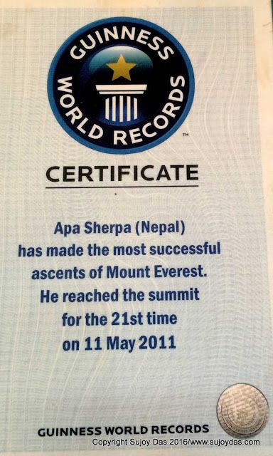 Trekking and Photography in the Himalaya: Apa Sherpa | 21 Everest Summits
