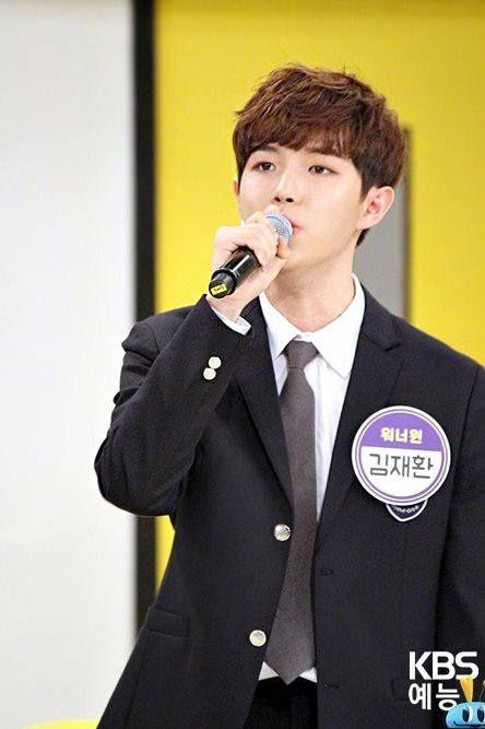 Kim jaehwan at KBS Happy Together