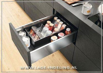 Blum ORGA-LINE Kruidenrek - lade-indeling.nl