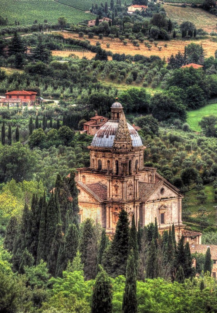 Church of Madonna di San Biagio in Montepulciano - Tuscany, Italy