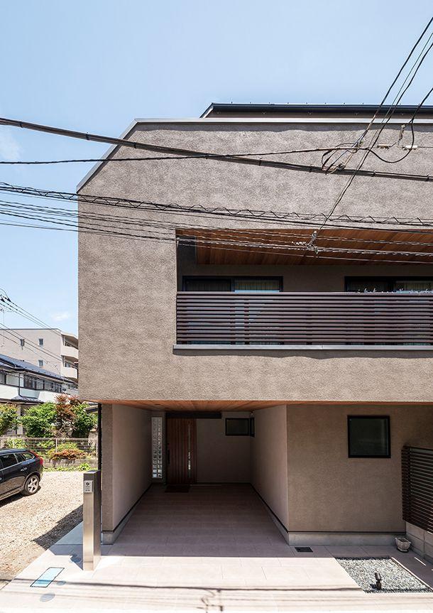 グレージュのハウス 注文住宅なら建築設計事務所 フリーダム