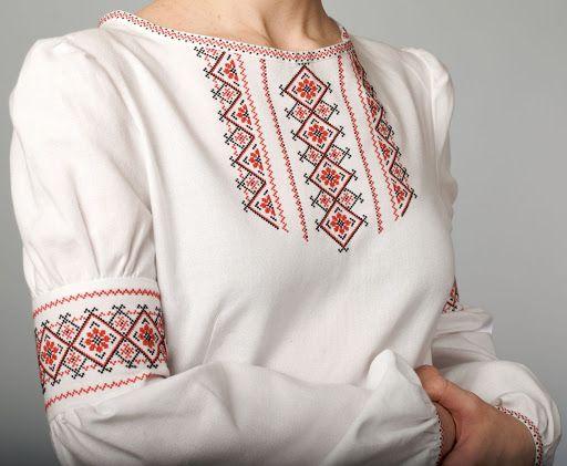 8. бабушка привезла из поездки украинскую блузу вышиванку с узором из черных и красных ниток. Помню до сих пор. И сейчас такие блузки очень нравятся.