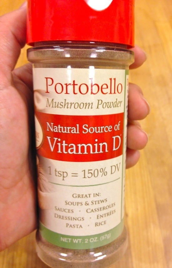 Portabello Mushroom Powder - Natural Source of Vitamin D