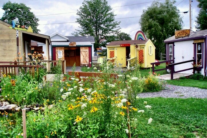 Tiny house village living little pinterest for Small house design village