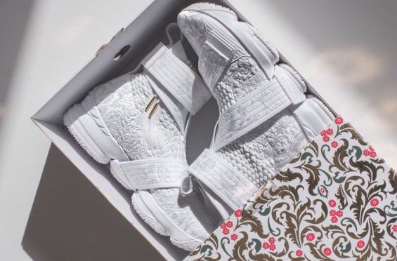 low priced b11b6 8c401 KITH x Nike LeBron 15 City of Angels Arriving Soon | Dr ...