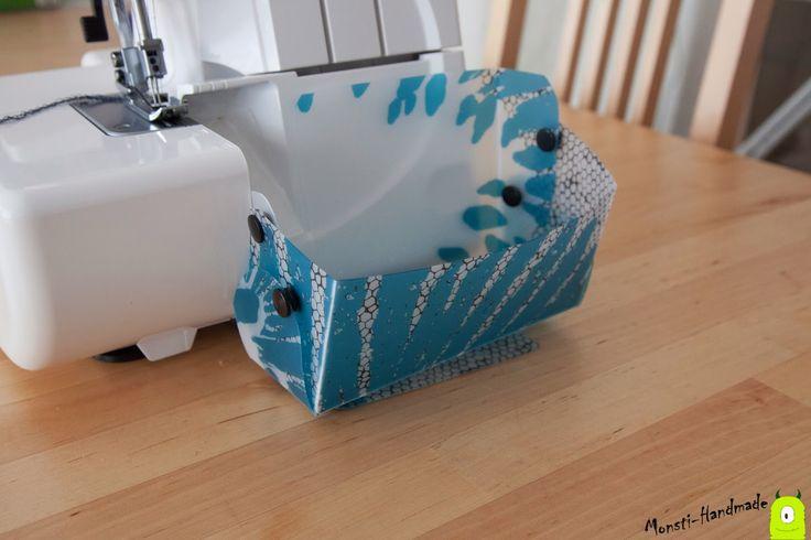 Monsti Handmade: Auffangbehälter für meine Ovi
