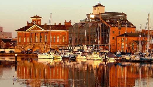 Ipswich, England. This is where my dad is from.