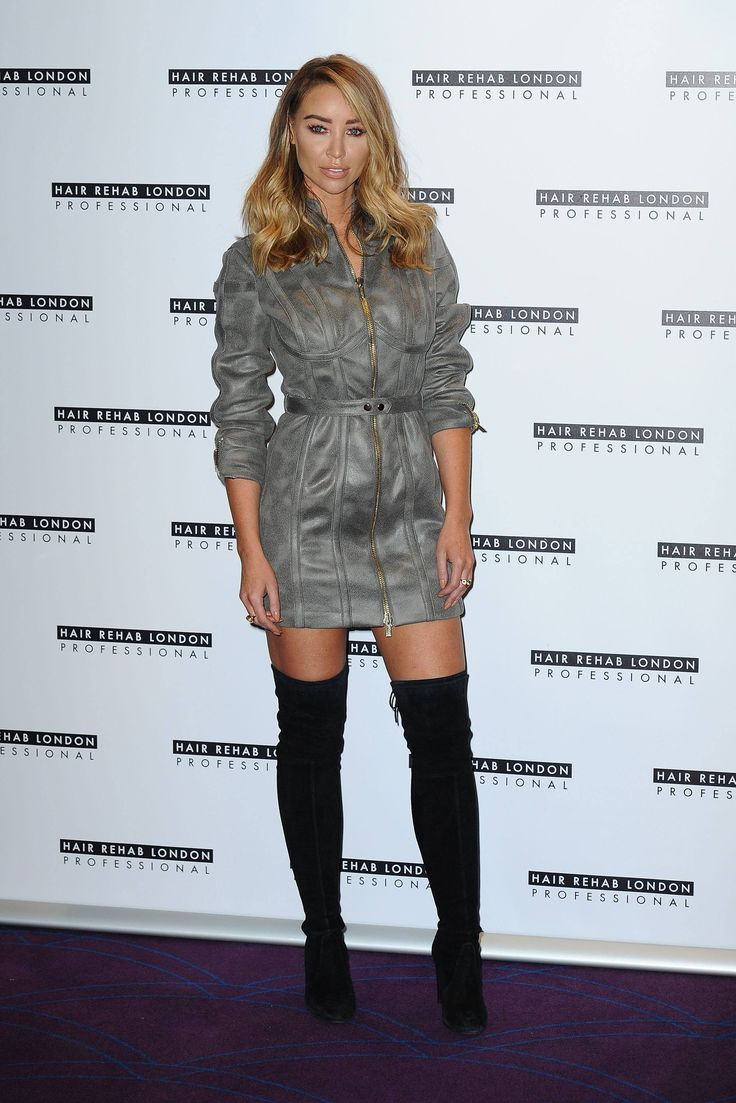 Lauren Pope Photocall for the Hair Rehab London line                                                                                                                                                                                 More