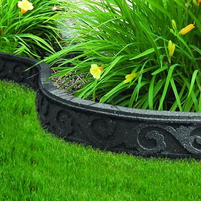 Perfect EcoTrend   3.5x48 Inch Flexi Curve Scroll Grey   MT5000931   Home Depot  Canada. Easy GardenGarden EdgingGarden ...