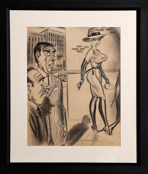 Artworks of Bill Ward (American, 1919 - 1998)
