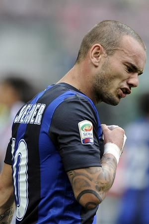 LIVERPOOL have rubbished claims they have bid £9.5million for Inter Milan star Wesley Sneijder.