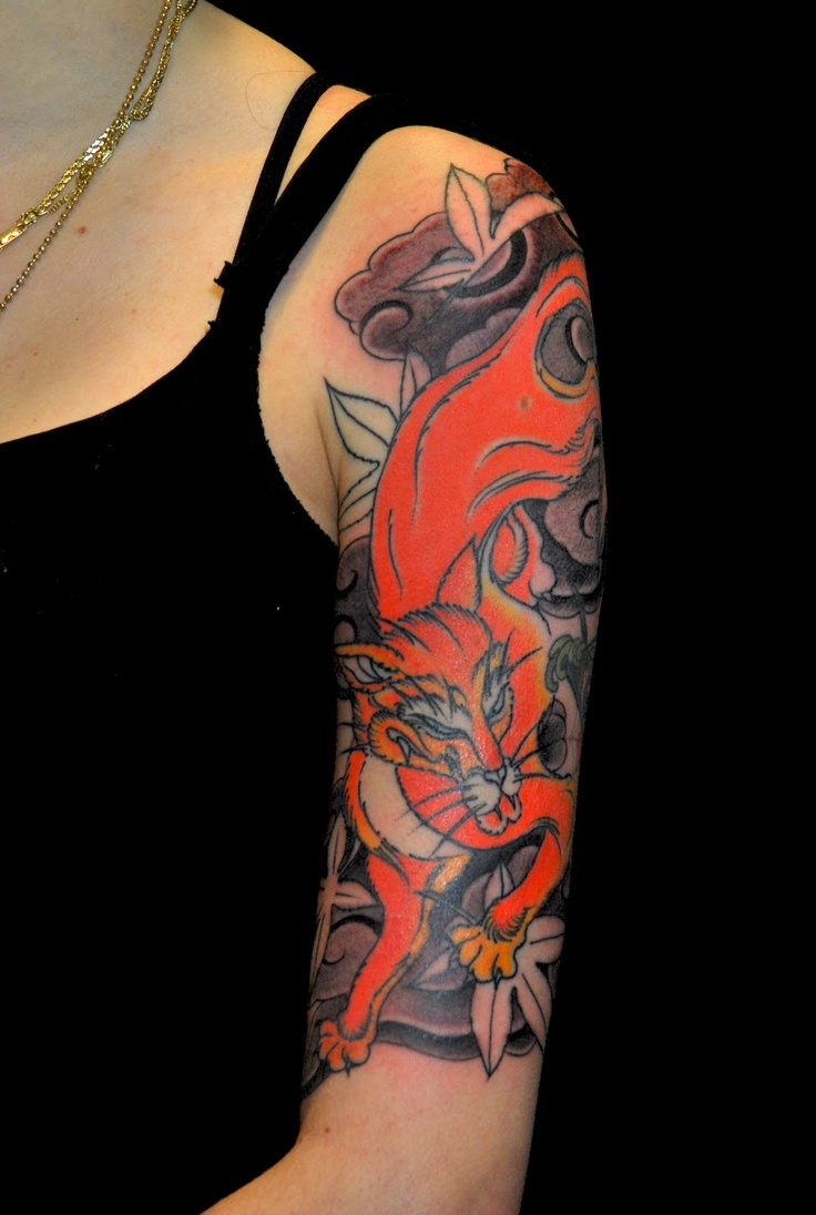 Traditional Kitsune Tattoo: 78+ Images About Tattoos On Pinterest