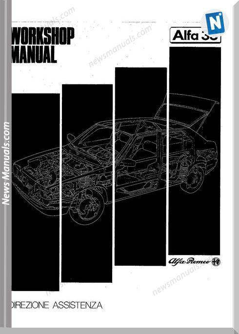 Alfa Romeo 33 Workshop Manual