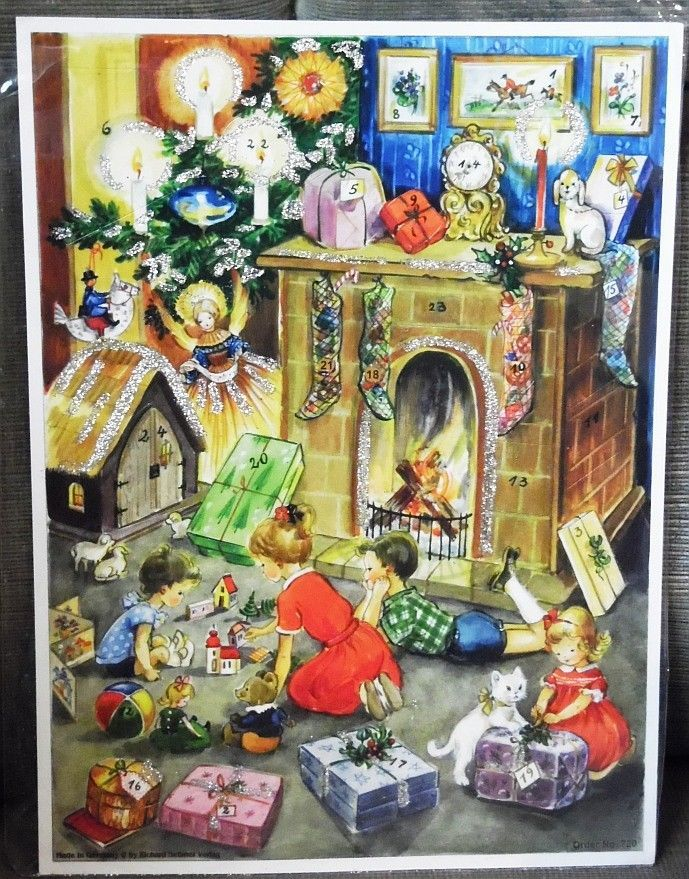 Hervorragend Details Zu Adventskalender Nr 720 U201e Kinder Am Kamin U201c Mit Bildern Richard  Sellmer Verlag | Advent | Pinterest | Advent Calendars