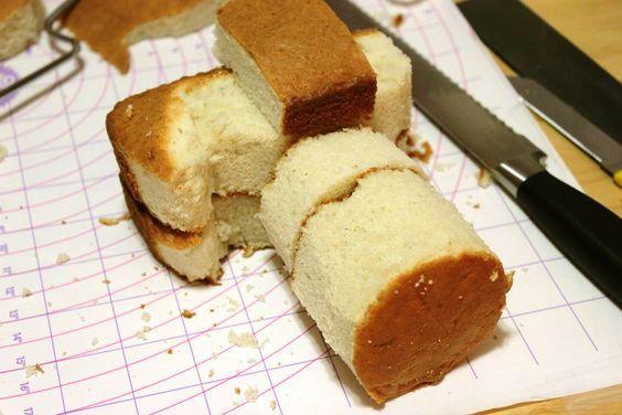 Génoise gâteau sculpté