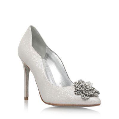 Nine West Natural 'Elizza' high heel court shoes | Debenhams