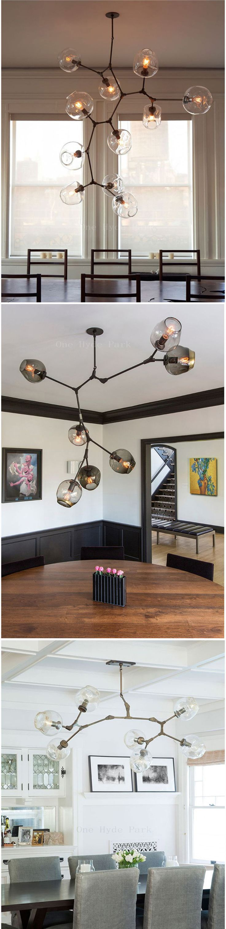 The 25 best lindsay adelman ideas on pinterest modern lindsey adelman 8 globe branching bubble glass pendent lightchandeliermodern livingdinning arubaitofo Choice Image