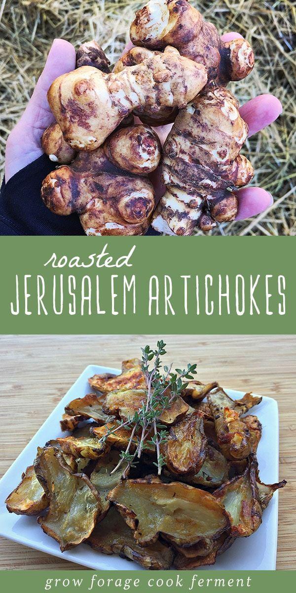 Recipe Jerusalem Artichoke