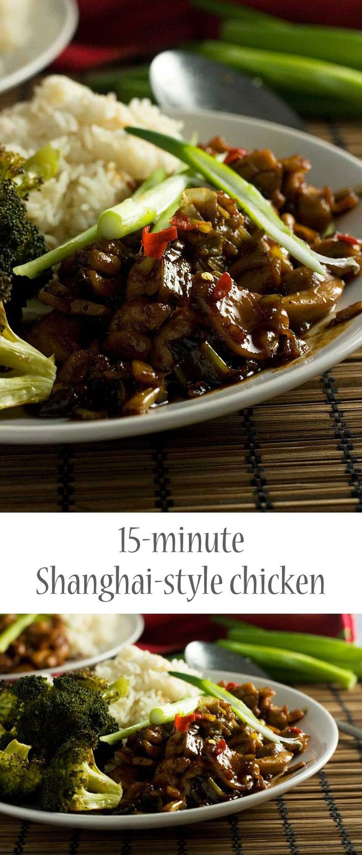 15-minute Shanghai chicken