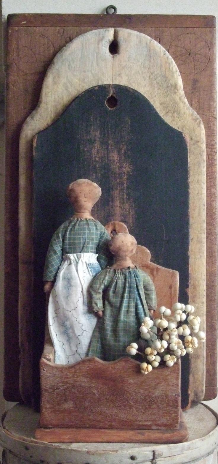 Schneeman Primitive Dolls...Wonderful & Lovely!!