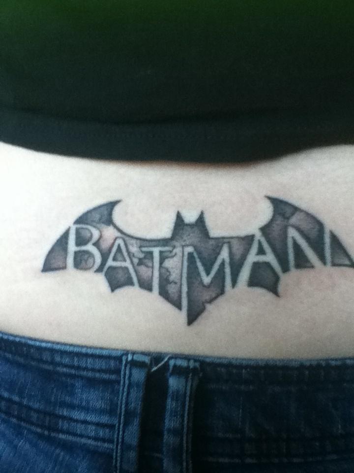Batman tattoo. Lettering idea | 타투 | Pinterest