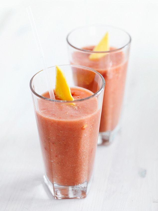 smoothie met tomaat, aardbei en mango | ZTRDG magazine