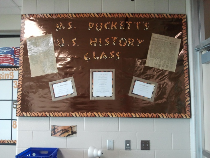 8th Grade Social Studies Classroom Decorations ~ The new i m writing about teaching it will be for