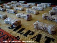 Homade Bacon Dog Treats