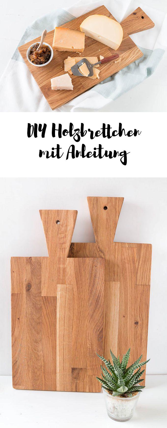 DIY Schneidebrettchen aus Holz - ein selbstgemachtes Holzbrettchen als DIY Geschenk