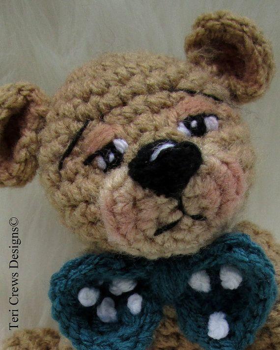 Crochet Pattern Little Bear by Teri Crews instant download PDF format