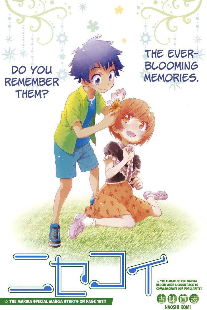 Nisekoi Kids Manga, Personnages, Dessin