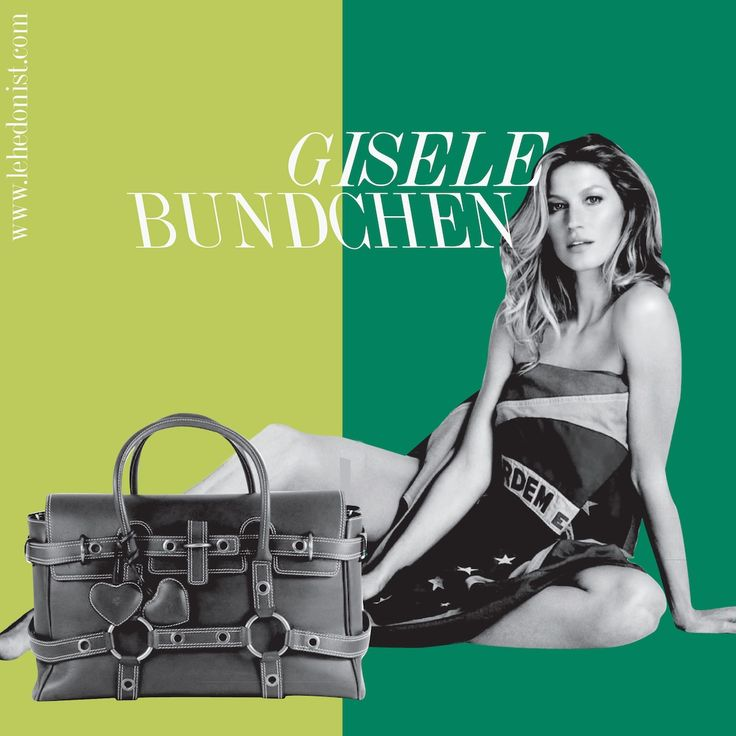 British brand Luella named the bag in honour of the stunning Brazilian supermodel Giselle Bundchen. While the very 'teen girl' design seems nothing like the exotic beauty, the association worked well and she even sashayed down the ramp donning it. The bag was a huge hit too.