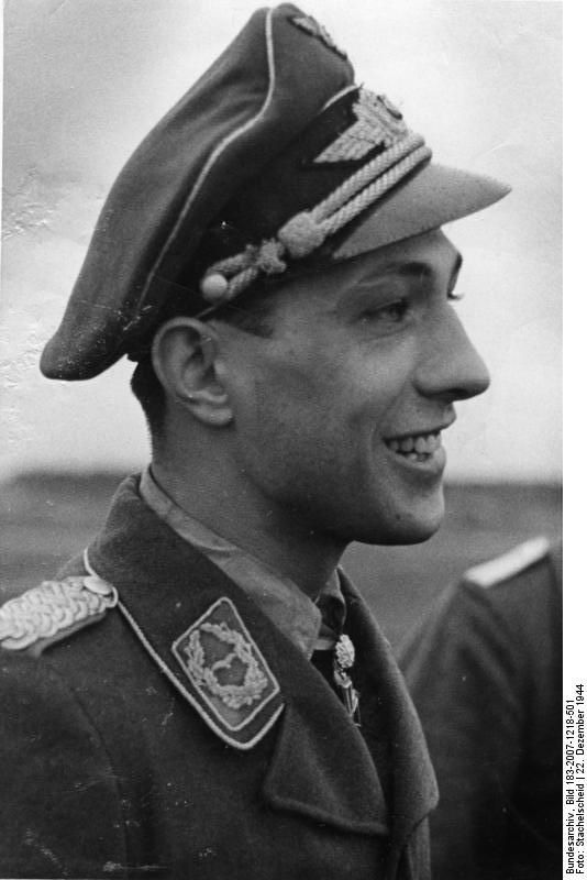 Major Erich Rudorffer was born in 1917 and is 96 years old. He is one of the handful of pilots who served in the Luftwaffe for the duration of WW2. He is the 7th most successful fighter pilot in the history of air warfare, and currently both the oldest jet fighter ace, and the most successful ace still living. Rudorffer claimed a total of 222 victories, fighting in all the major German theaters of war, including the European and Mediterranean Theater of Operations and the Eastern Front.