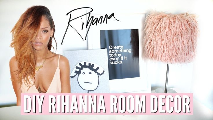DIY Rihanna Room Decor! Cheap & Super SIMPLE