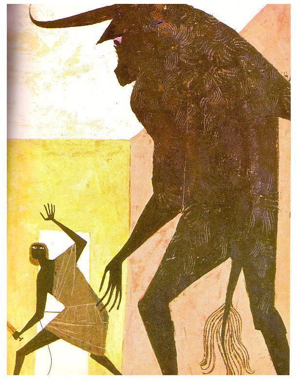 Alice and Martin Provensen from 'The Golden Treasury of Myths and Legends'