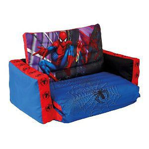 "Choose from Boys Spiderman Bedroom Furniture, Bed,Desk,Toy Box, Sofa, ""NEW"" 