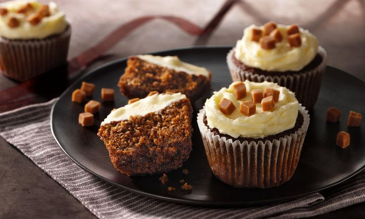 recipe-Sticky Toffee Cupcakes