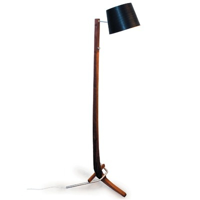 Cerno Silva Large Floor Lamp    Fundamental to Cerno's lighting and furniture designs is the intent to build enduring products that use efficient technology. In addition to minimalizing impact, Cerno products seek to encourage expression and personal enjoyment in a day and age when opportunities to find such values are often overlooked.