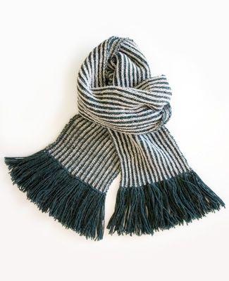 Как связать шарф - подробная инструкция. Длинный, теплый, полосатый...