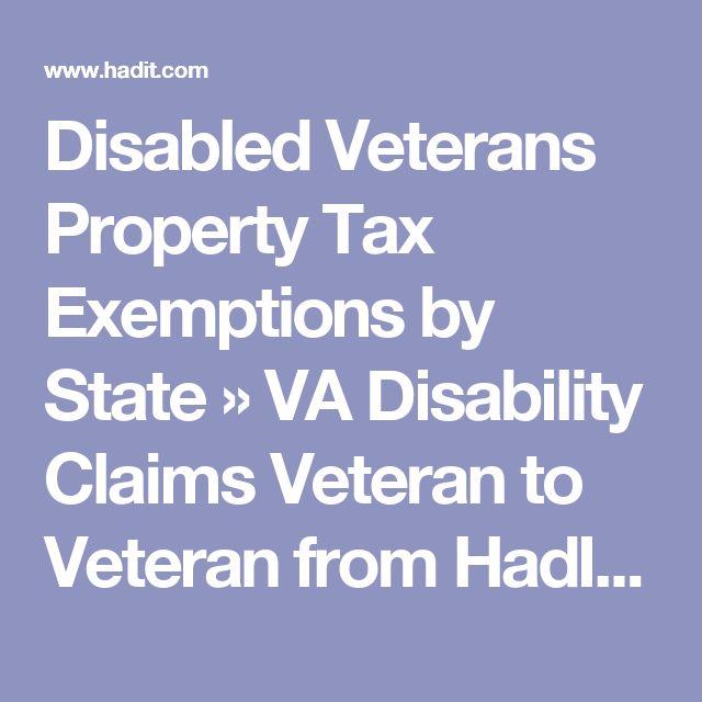 Disabled Veteran Property Tax New York