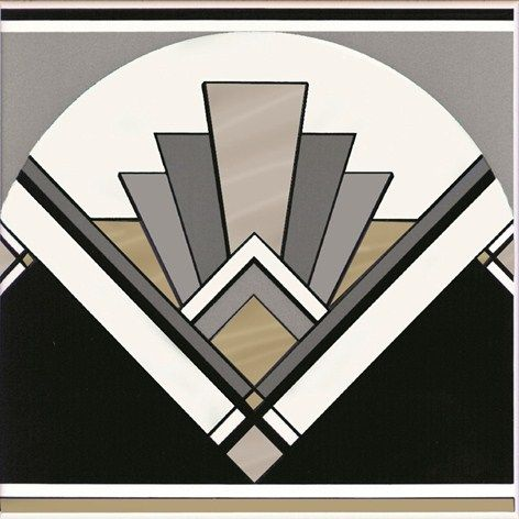 Art Deco fan tile                                                                                                                                                                                 More