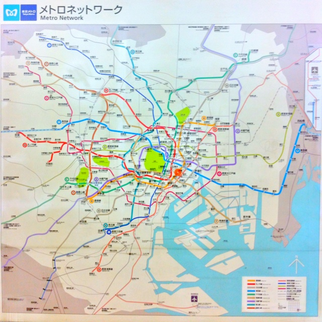 Tokyo Metro Network
